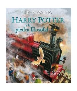 HARRY POTTER Y LA PIEDRA FILOSOFAL/ILUSTRADO TAPA BLANDA