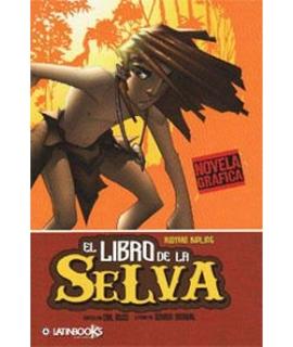 LIBRO DE LA SELVA NOVELA GRAFICA