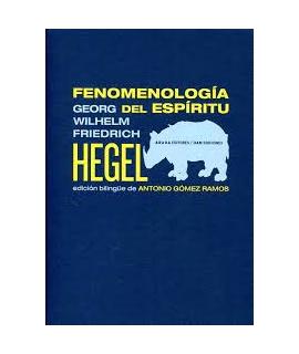 FENOMENOLOGIA DEL ESPIRITU (BILINGUE)