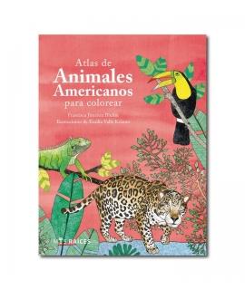 ATLAS DE ANIMALES AMERICANOS PARA COLOREAR